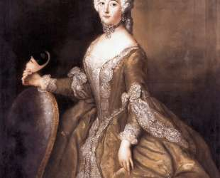 Luise Ulrike of Prussia, Queen of Sweden — Антуан Пэн