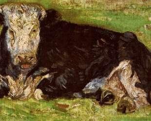 Lying Cow — Винсент Ван Гог