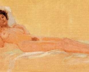 Lying naked, Gabrielle — Франтишек Купка