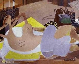 Лежащая обнаженная (Купальщица VI) — Жорж Брак