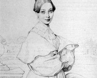 Мадам Балтар и ее дочь, Паула — Жан Огюст Доминик Энгр