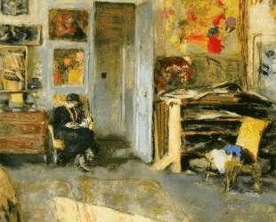 Madame Losse Hessel in Vuillard's Studio — Эдуар Вюйар