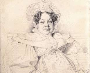 Мадам Луи-Франсуа Бертен — Жан Огюст Доминик Энгр