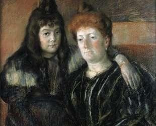 Мадам Меерсон и её дочь — Мэри Кассат