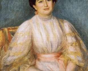 Madame Paul Gallimard nee. Lucie Duche — Пьер Огюст Ренуар
