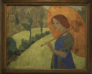 Madame Serusier with a Parasol — Поль Серюзье