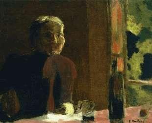 Madame Vuillard at Table — Эдуар Вюйар