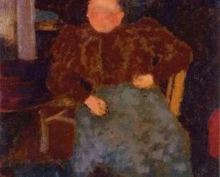 Madame Vuillard Seated — Эдуар Вюйар