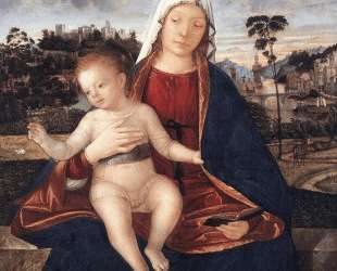 Madonna and Blessing Child — Витторе Карпаччо