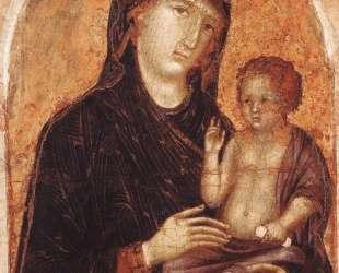 Madonna and Child — Дуччо