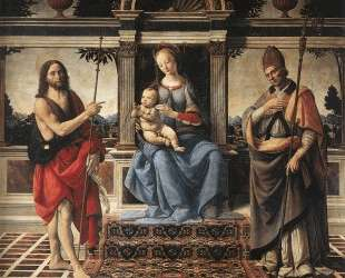 Madonna and Child — Андреа Верроккьо
