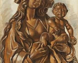 Мадонна с младенцем — Зинаида Серебрякова