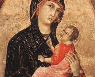 Madonna and Child (no. 593) — Дуччо