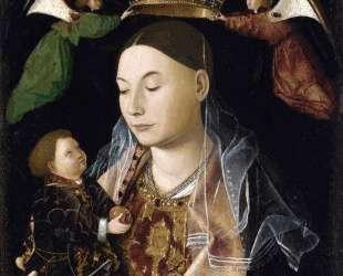 Мадонна с младенцем (Мадонна Салтинг) — Антонелло да Мессина