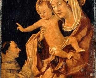 Мадонна с младенцем и молящийся франсисканский даритель — Антонелло да Мессина