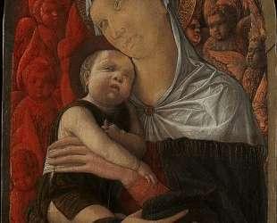 Madonna and Child with Seraphim and Cherubim — Андреа Мантенья