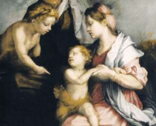 Madonna and Child with St. Elizabeth and St. John the Baptist — Андреа дель Сарто