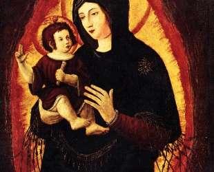 Мадонна (Прекрасная Мария из Регенсбурга) — Альбрехт Альтдорфер
