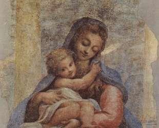 Мадонна делла Скала (Мадонна у лестницы) — Корреджо