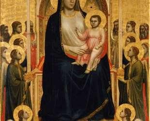 Madonna in Maest (Ognissanti Madonna) — Джотто