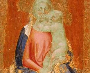 Madonna of Humility — Мазаччо