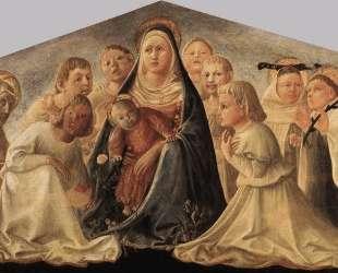 Madonna of Humility — Филиппо Липпи