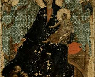 Madonna of the Franciscans — Дуччо