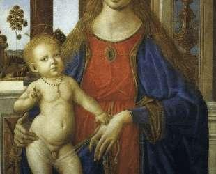 Мадонна с младенцем — Пьетро Перуджино