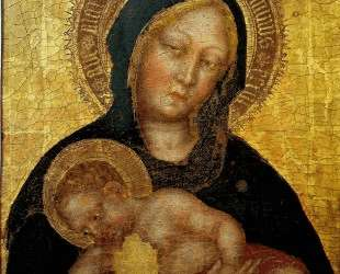 Madonna with Child Gentile da Fabriano — Джентиле да Фабриано