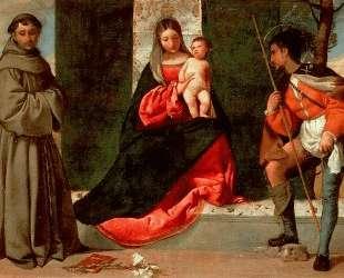 Мадонна с младенцем, Св. Антоний Падуанский и Св. Рох — Джорджоне
