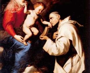 Madonna with the Christ Child and Saint Bruno — Хосе де Рибера