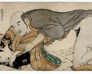 Male Couple — Китагава Утамаро