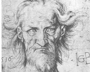 Мужская голова — Ханс Бальдунг