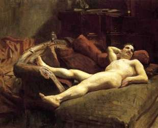 Male Model Resting — Джон Сингер Сарджент
