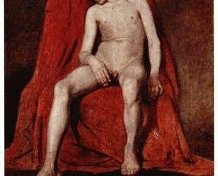 Male nude — Василий Суриков