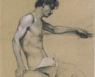Male Nude Study — Коломан Мозер