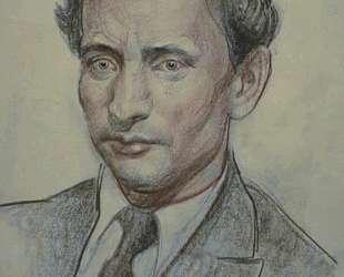 Мужской портрет — Давид Бурлюк