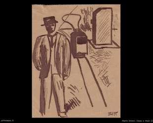 Man and tram — Марио Сирони