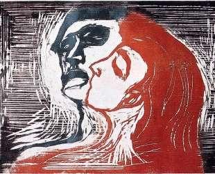 Мужчина и женщина I — Эдвард Мунк