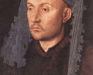 Мужчина в синем тюрбане — Ян ван Эйк