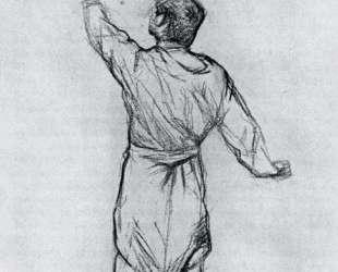 Man in a Shirt, From Behind — Анри де Тулуз-Лотрек