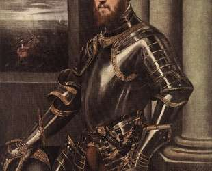 Man in Armour — Тинторетто