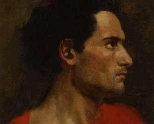 Man in Profile — Генрих Семирадский
