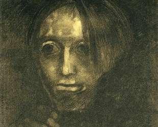 Man's head — Одилон Редон