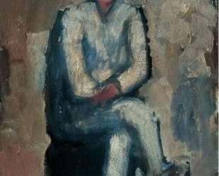 Man sitting — Бартоломе Эстебан Мурильо
