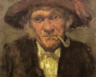 Man smoking a pipe — Джеймс Эббот Макнил Уистлер