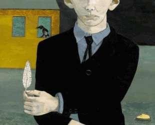 Мужчина с пером — Люсьен Фрейд