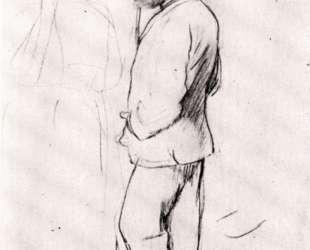 Мане на скачках — Эдгар Дега