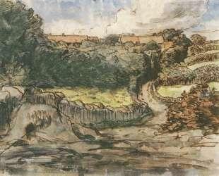 Ферма в Гревилле — Жан-Франсуа Милле