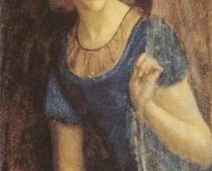 Mariana at the window — Артур Хьюз